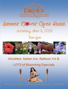 Summer Flower Open House