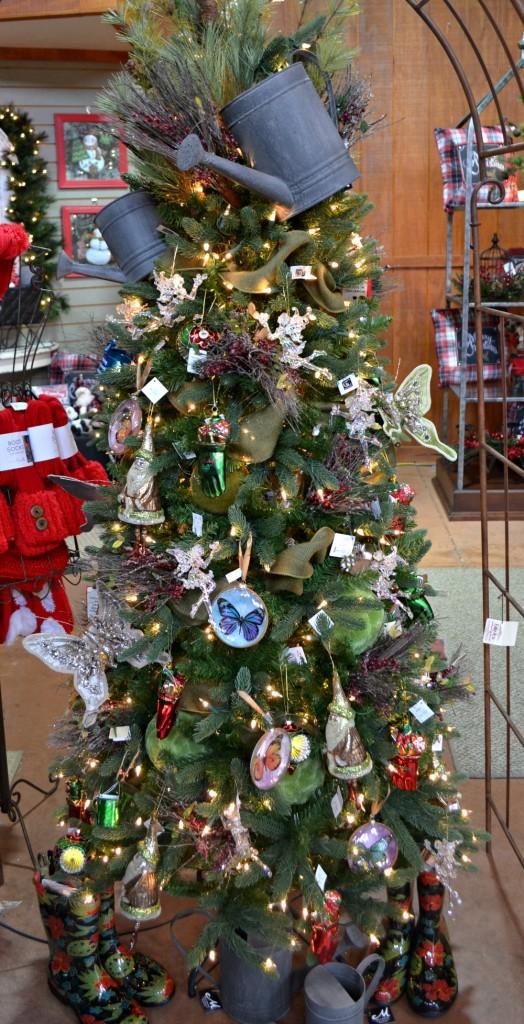 Christmas Garden tree theme