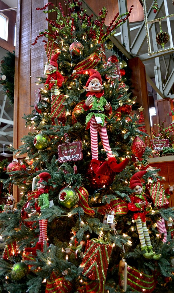 Elfish Elf themed Christmas tree