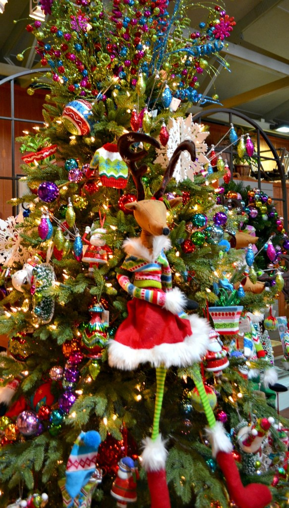 Reindeer Games Christmas tree
