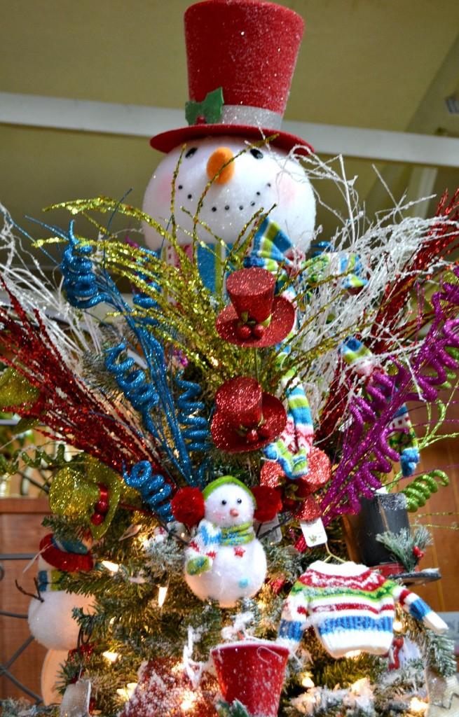 Snow Much Fun snowman tree topper